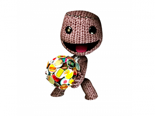 gallery/sackboy with planet